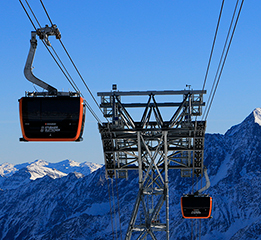 2S/3S (Bicable/tricable) ropeway