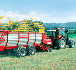 Fiber ropes for agricultural equipment