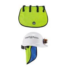 Evap. Hard Hat Neck Shade w/CT