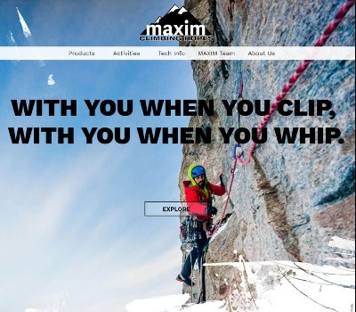 Maxim new Website
