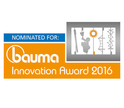 TEUFELBERGER nominated for bauma innovation award 2016