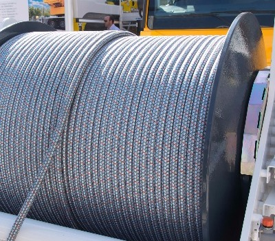 soLITE® high strength fiber rope for cranes