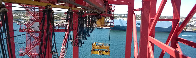 Hubseil für Containerbruecke: Evolution Q8