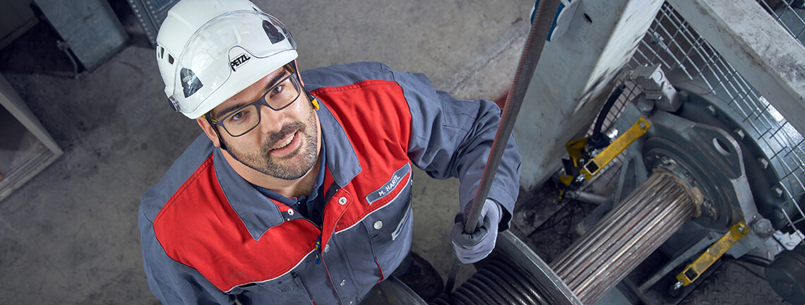 Mario Hartl - head of applications engineering for steel wire ropes