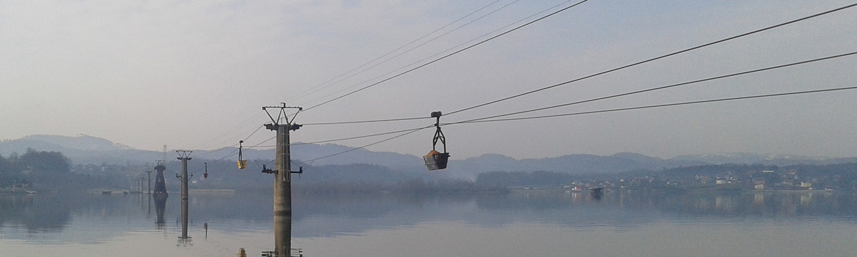 Premium mining ropes for Material ropeway