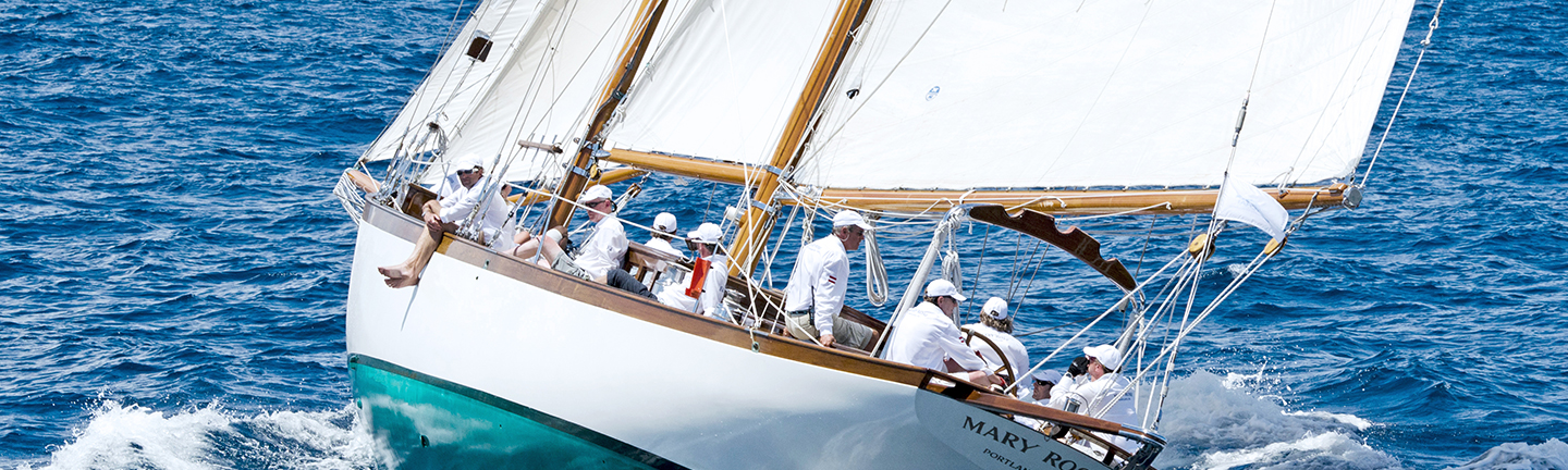 Our yachting cordage in action