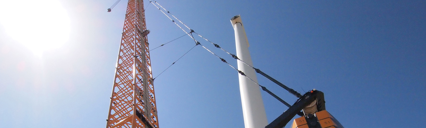 The advanced EVOLUTION crane ropes are the economical solution for your crawler crane.
