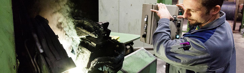 Stahlseil-Produktion bei TEUFELBERGER