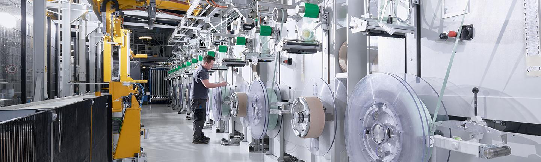 TEUFELBERGER Umreifungsband Produktion