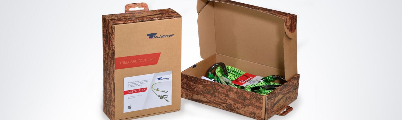 Neue Tool Line Verpackung unserer Baumpflegeprodukte