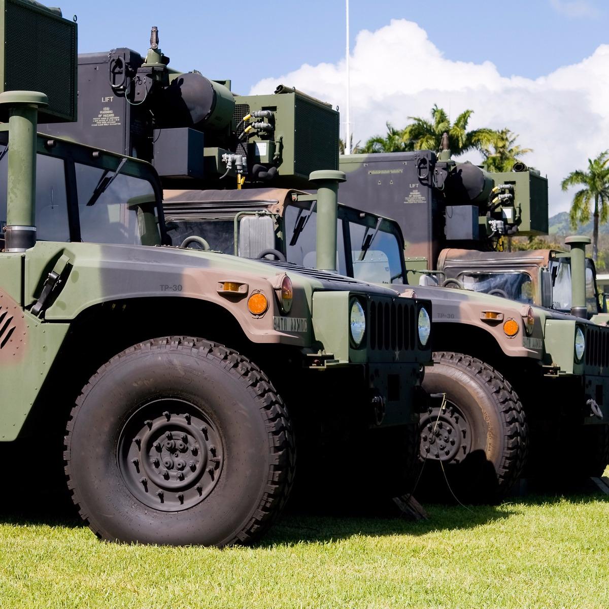 DuraTEN für Berge- und Militärfahrzeuge
