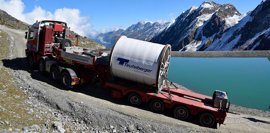 Seiltransport 3S Eisgratbahn am Stubaier Gletscher